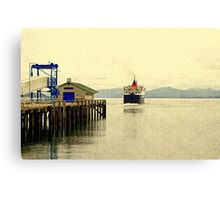 Leaving Mull Canvas Print