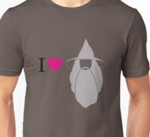 I love Gandalf Unisex T-Shirt