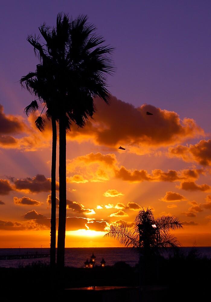 Semaphore sunset by BobbyF