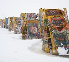 Cadillac Ranch by BobbyF