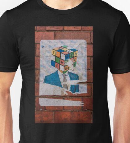 Rubix Cube head Unisex T-Shirt