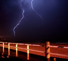 Beach Storm 3 by Mark Snelson