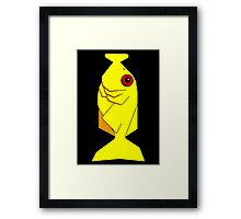 The Hitchhikers Guide to the Galaxy - Babel Fish Framed Print