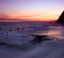 Bogey Hole at Dusk 1 by Mark Snelson
