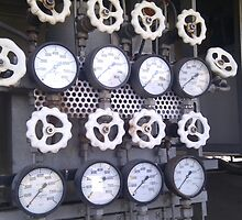 Gauges and Dials by C B