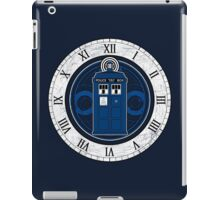 TARDIS and Clock - Doctor Who iPad Case/Skin