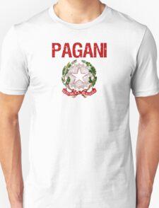 Pagani Surname Italian T-Shirt