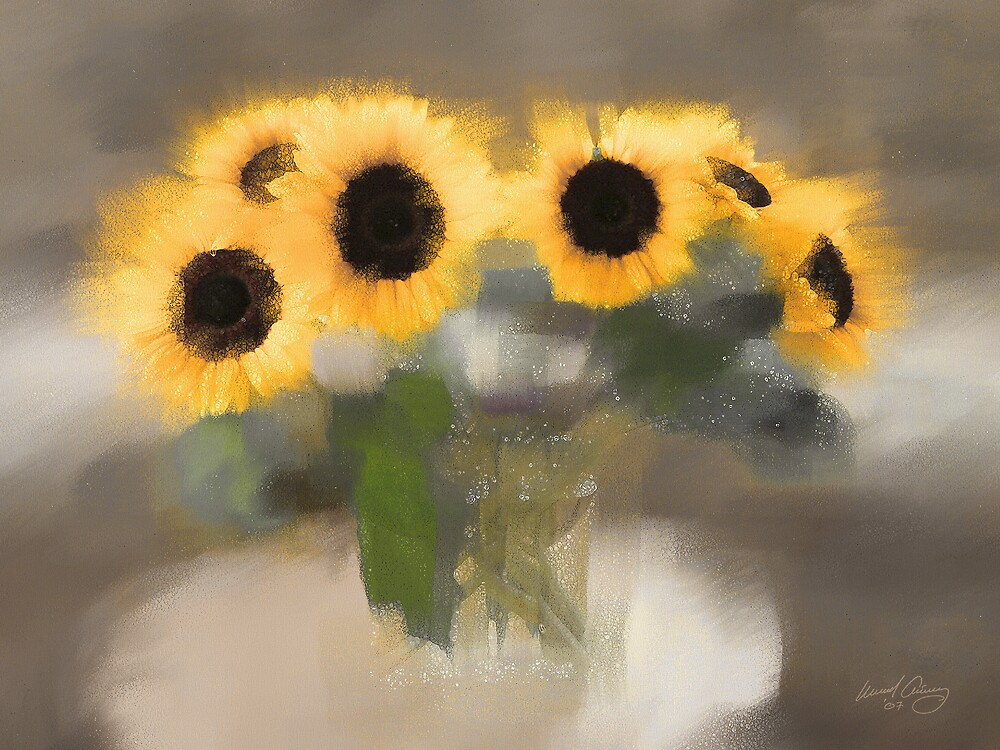 Sunflowers #6 by Michael Critchley