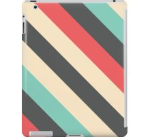 Retro Striped Pattern iPad Case/Skin