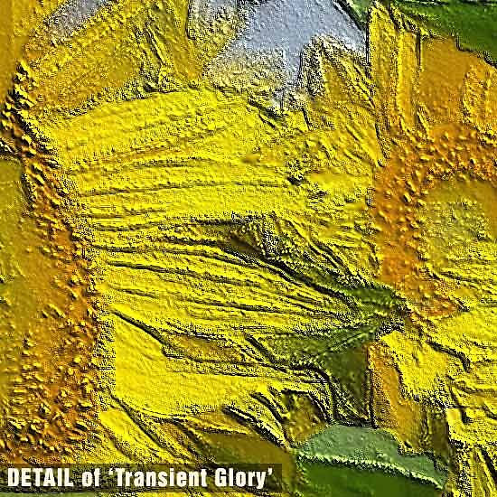 DETAIL of Transient Glory by Michael Critchley