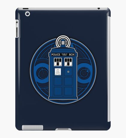 TARDIS and Timelord Seal - Doctor Who iPad Case/Skin