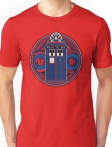 TARDIS and Timelord Seal - Doctor Who Unisex T-Shirt