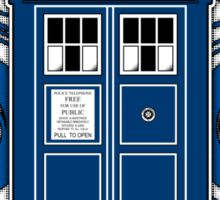 TARDIS and Timelord Seal - Doctor Who Sticker