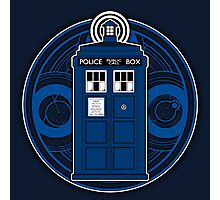 TARDIS and Timelord Seal - Doctor Who Photographic Print