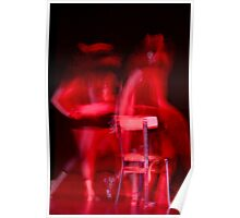 Movement in RED Poster