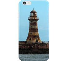Roker Pier and Lighthouse iPhone Case/Skin