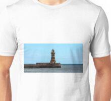 Roker Pier and Lighthouse Unisex T-Shirt