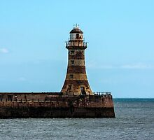 Roker Pier and Lighthouse by Trevor Kersley