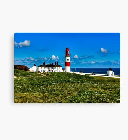Souter Lighthouse Canvas Print