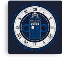 Doctor Who Legacy - 13 Doctors Canvas Print