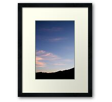 Pink and Blue #1 Framed Print