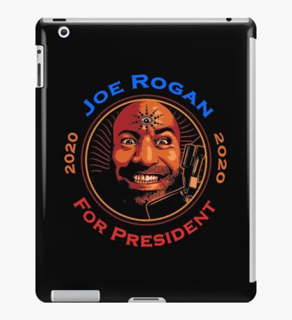 Joe Rogan For President iPad Case/Skin