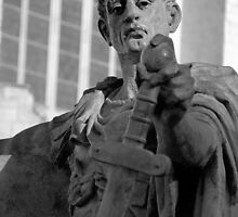 Constantine the Great - Roman Emperor in York England by Lindamell