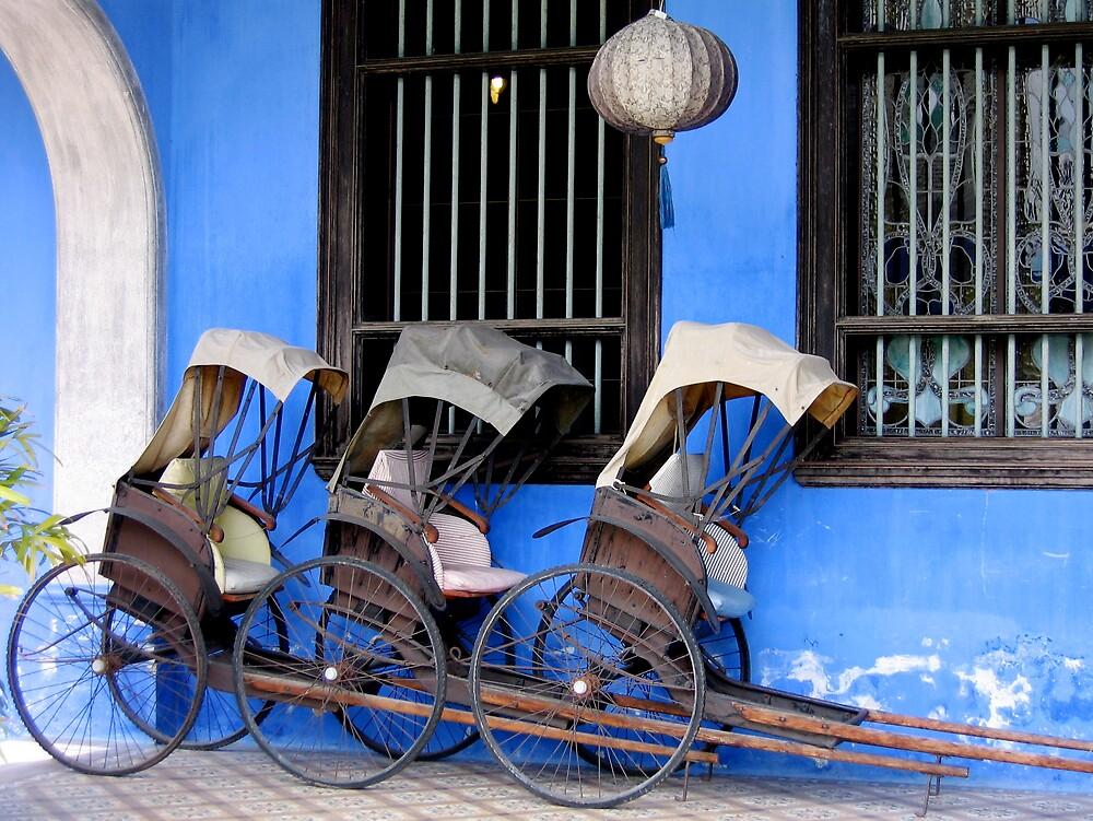 Rickshaws by Andrew Parker
