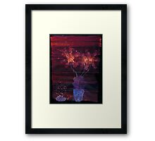 WDV - 392 - Candy and Flowers Framed Print