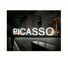 Picasso Art Print