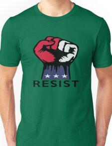 Resistance Fist Fight Political Corruption USA T-shirt Unisex T-Shirt