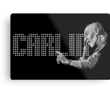 George Carlin - comedy legend Metal Print