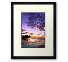Hervey Bay Framed Print