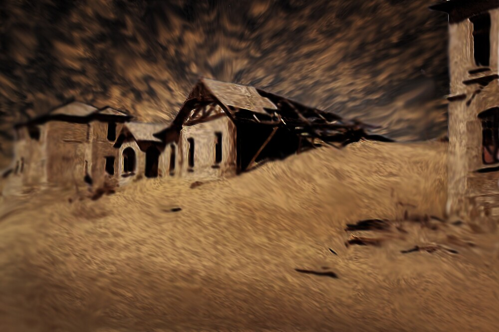 Ghost Town by Cliff Vestergaard