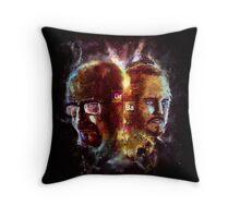 Chemisty2 - Walter White and Jesse Pinkman Throw Pillow