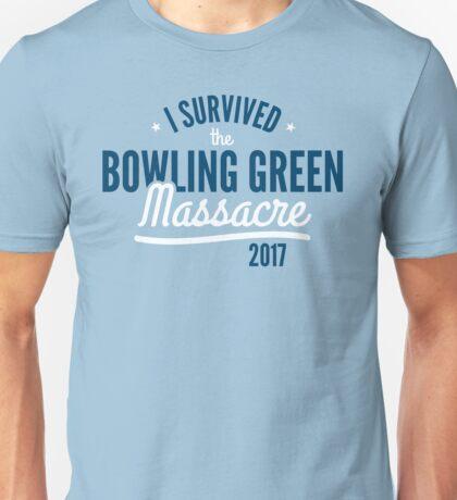 I survived the Bowling Green Massacre Funny Tshirt Trump Unisex T-Shirt
