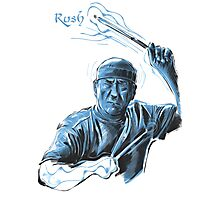 Neil Peart from Rush Photographic Print