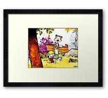 Calvin 'n' Hobbes Framed Print