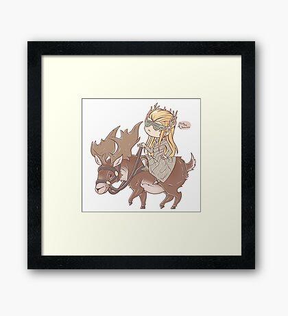 .: Swag Moose :. Framed Print