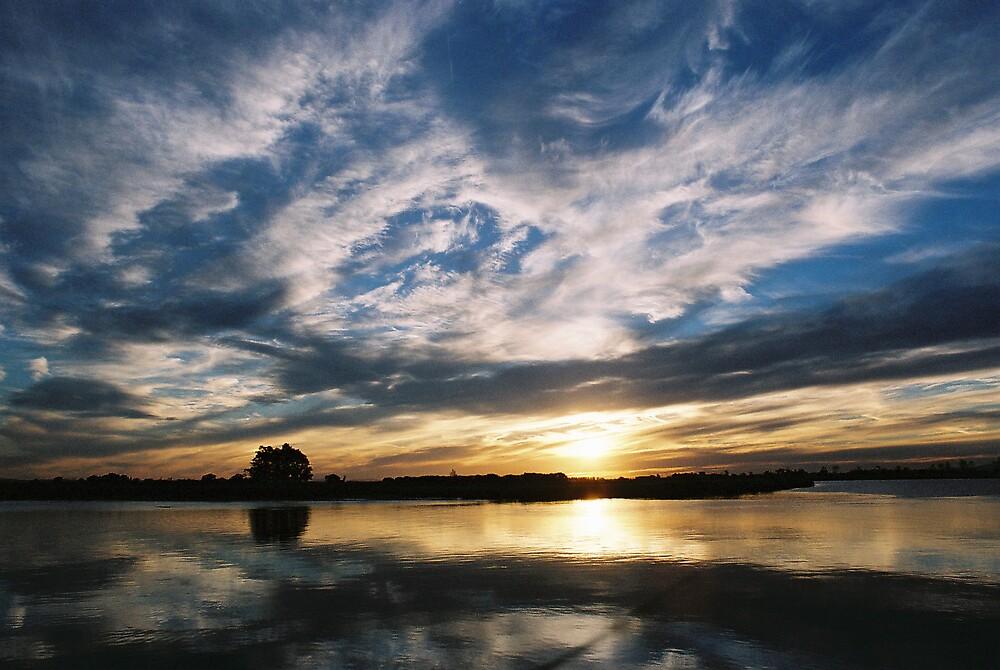 Sunset - Hunter River by chriso