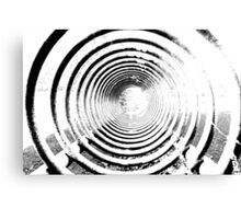 abstract spiral Canvas Print