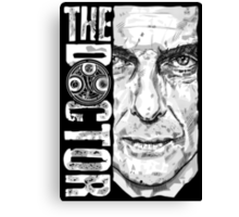 New Beginnings Number 12 - Doctor Who - Peter Capaldi Canvas Print