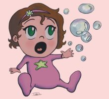 Baby Bubble Girl One Piece - Long Sleeve