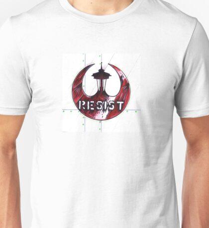 Seattle #Resist Unisex T-Shirt