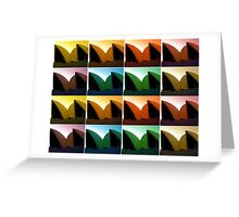 The Colours of Opera Greeting Card