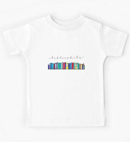 Bibliophile II Kids Tee