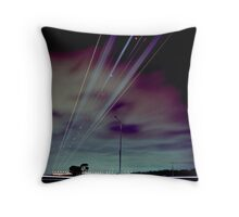 Skyroad Throw Pillow