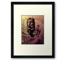 Prince Rattus Returns Framed Print