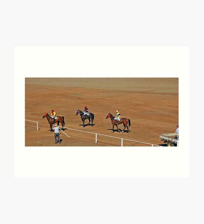 48th Picnic Race Meeting, Ardlethan Art Print
