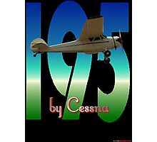 195 by Cessna T-shirt Design Photographic Print